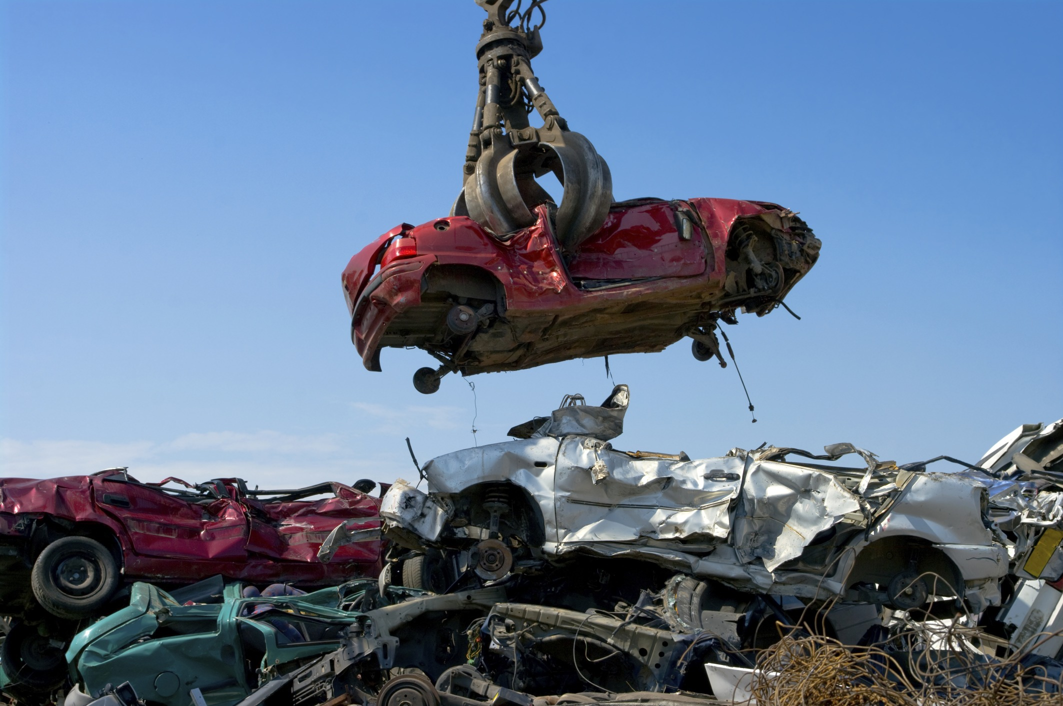 How much do you get for scrapping a car?