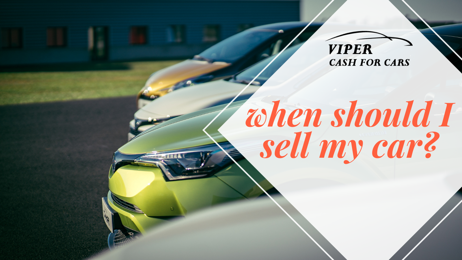 How To Know When It's Time To Sell Your Car