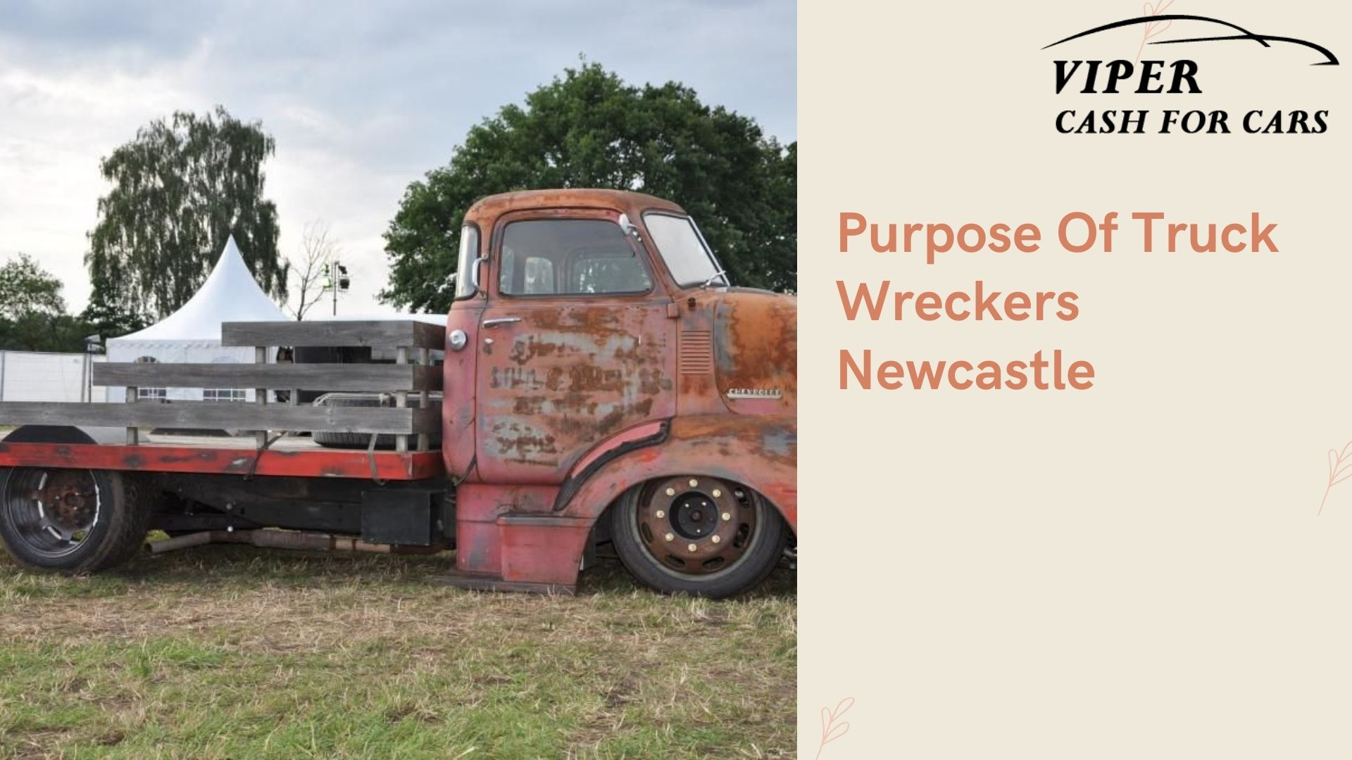 What Is The Purpose Of Truck Wreckers Newcastle?