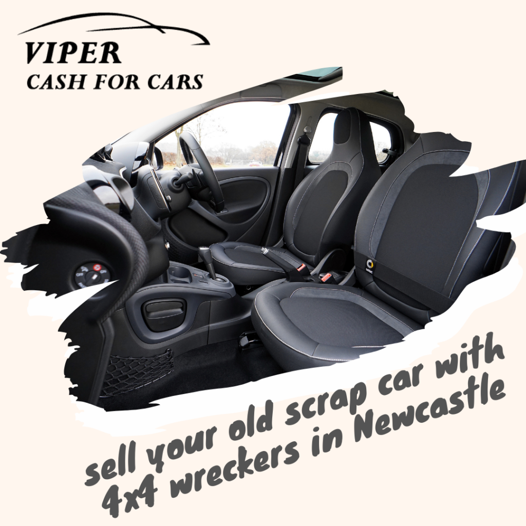 sell your old scrap car with 4x4 wreckers in Newcastle