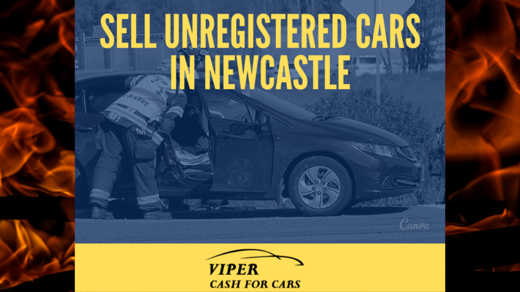 Sell unregistered car Newcastle nsw