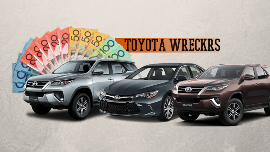 toyota car wreckers