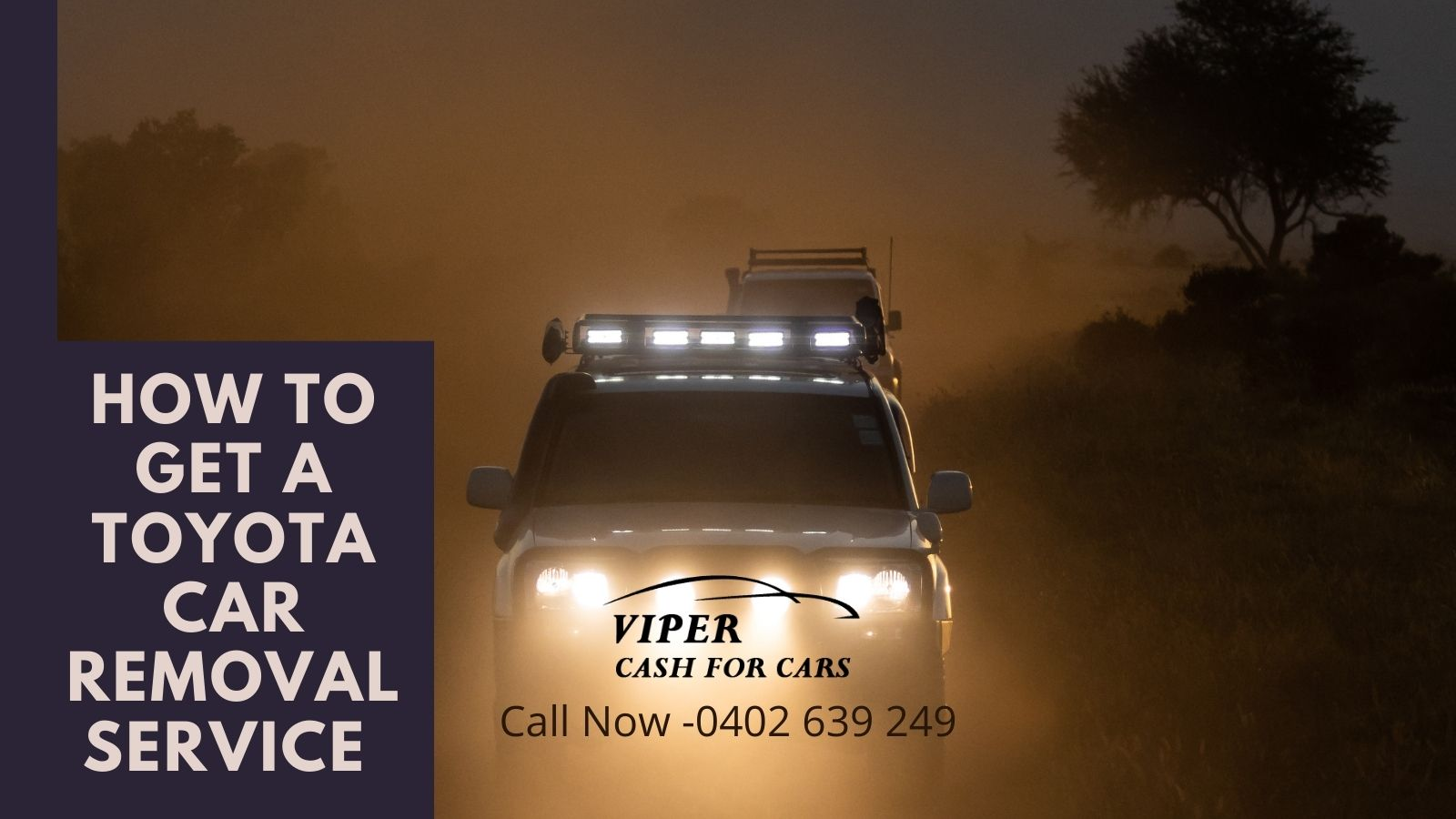 How to get a Toyota car removal service in Newcastle?